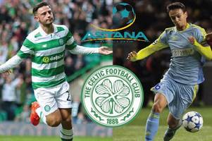 find out which channel astana v celtic game is on after deal is done to show champions league tie