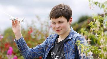 Thomas is Northern Ireland youngest glider pilot at 14