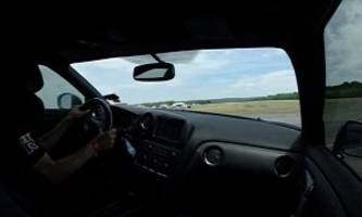2.000 HP Nissan GT-R's 200 MPH Crash Looks Terrifying from Inside the Car