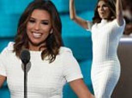 eva longoria hits out at donald trump as she praises her veteran father
