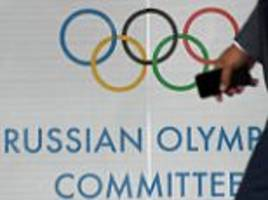 Five Russian sprint canoeists banned from Rio 2016 Olympic Games following doping scandal