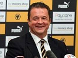 norwich look to former wolves chief executive jez moxey as ed balls seeks 'deep football experience' for new man