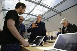 Tim Cook: Apple's services business will be 'the size of a Fortune 100 company by next year' (AAPL)