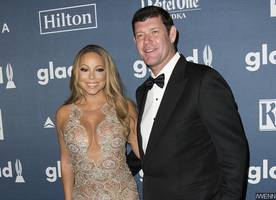Mariah Carey's Fiance James Packer Grabs Her Boob While Partying in Italy