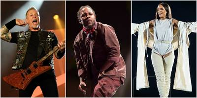 kendrick, rihanna, metallica set for global citizen festival