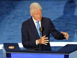 Viewers take to Twitter over Clinton's shaking hands during his DNC speech