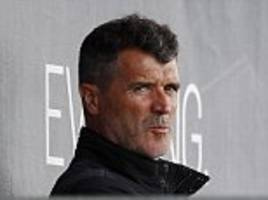 Barcelona stars observed in training at St George's Park by Roy Keane