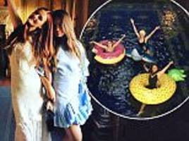 Lydia Hearst throws lavish bachelorette party at Hearst Castle