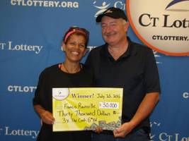 Manchester Man Takes Home $30,000 Lottery Prize