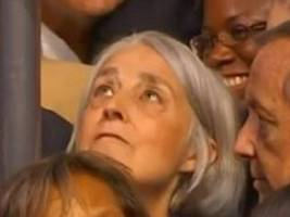 Watch Hillary Clinton's Childhood Pal Fight Tears as She Casts Illinois' Votes at DNC (VIDEO)