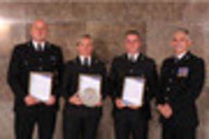 Cornish hero cops commended for saving the lives of desperate...