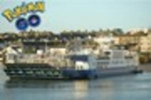 Torpoint Ferry issues warning to 'joyriding' Pokemon GO players