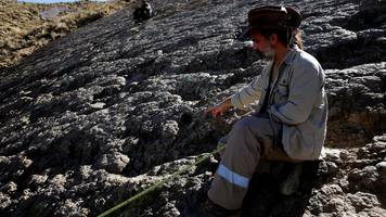 Giant 1.2 metre wide dinosaur footprint discovered in Bolivia