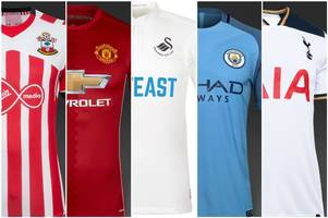 The 2016/17 Premier League kit rankings: How did Swansea City do as we rate all 20 home kits from worst to best