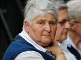 nun who survived isis church attack attends memorial service for the elderly priest slaughtered by knife-wielding jihadis