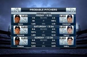 rays return home to face yankees