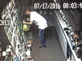 Gas Station Burglar Sought in North Haven