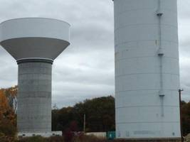 New Water Tower at MSH Grounds springs a leak!