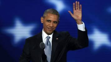 Obama Tears Up During A Presidential Farewell At The DNC