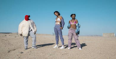 """Watch AlunaGeorge's New Video for """"Mean What I Mean"""" ft. Dreezy and Leikeli47"""