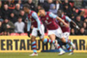west ham united linked with move for aston villa ace
