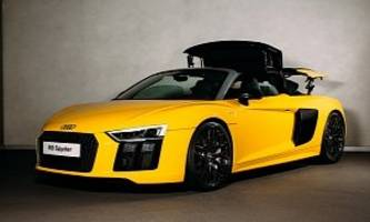 2017 audi r8 spyder launched in britain from £129,900
