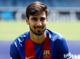 andre gomes says cristiano ronaldo congratulated him on barcelona move but the pair will be rivals at club level