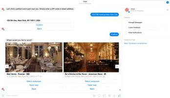 This new chat bot makes it so you don't have to wait for a table, your food, or the check