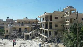 Syria conflict: Save the Children maternity hospital bombed