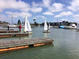 kids learning how to sail: san leandro photo of the week