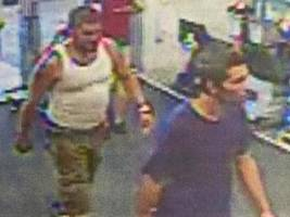 police seek men who stole $600 worth of tools