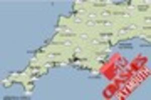 What will the weather be like for MTV Crashes Plymouth Day 2?