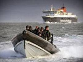 ferry terror attack fears: france sends heavily armed soldiers and police to calais amid warnings isis will target a uk-bound craft