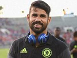 antonio conte unsure if diego costa will stay a chelsea player: 'if you ask me if costa will remain with us, i don't know'