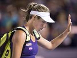 johanna konta misses top 10 opportunity as she loses rogers cup quarter-final to kristina kucova