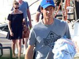 andy murray soaks up the sun in mallorca with wife kim sears on rafael nadal's yacht