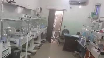 Airstrike on Syria maternity hospital leaves two dead