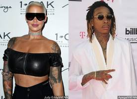 Amber Rose Reveals Wiz Khalifa Puts His Sperm on Her Face While They're Having Sex