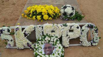 Keshi laid to rest in Nigeria as mourners pay their last respects