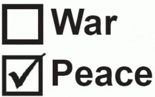 war or peace: the essential question before american voters on november 8th