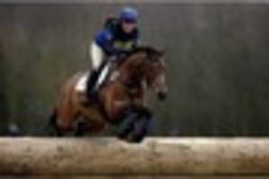 zara tindall fifth on olympic horse at gatcombe eventing festival...