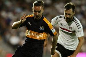 adam armstrong aims to emulate andy carroll at newcastle despite rangers link