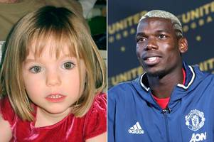 online casino trolls missing madeleine mccann's family in sick publicity stunt tweet over manchester united signing paul pogba