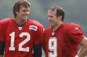 tom brady reminds drew brees of when he smoked him in college