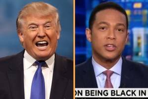 after off-the-rails cnn interview, donald trump hits back at 'lightweight' don lemon: 'dumb as a rock'