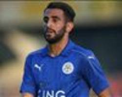 revealed: mahrez's dream five-a-side team