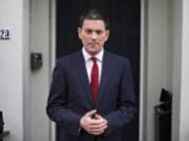 david miliband urged to get back into politics by standing in tragic jo cox's seat