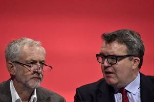 jeremy corbyn attacks his labour deputy tom watson, accusing him of 'nonsense' trotskyite claims