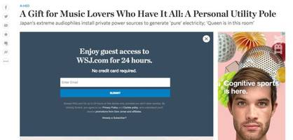 the wall street journal is changing up its paywall, offering guest passes and expanded link-sharing on social