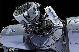 International Space Station crew to install docking platform for space taxis Friday